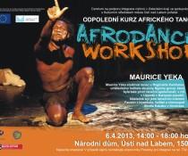 3 workshopy Afrodance a Korean Dish