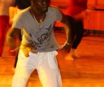 Fotografie z Afrodance workshopu s Mauricem Yekou