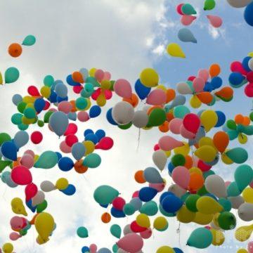 2012 létajících balónků na Ústím