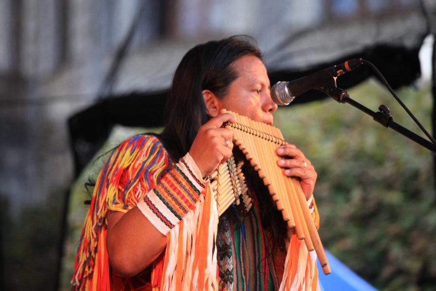Barevné vesničky: Latino, bolívijský stánek